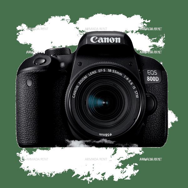 SEWA CANON EOS 800D